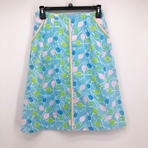 LILLY PULITZER The Lilly Lollipop Print Skirt
